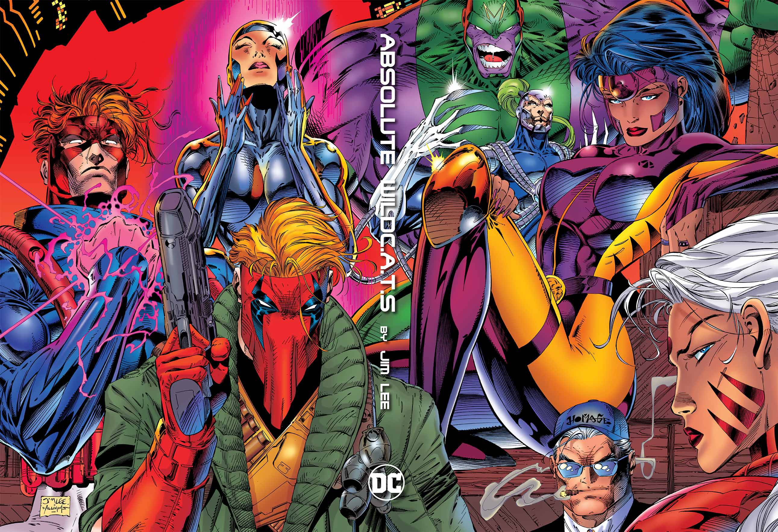 ABSOLUTE WILDCATS BY JIM LEE HC