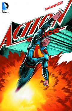 SUPERMAN ACTION COMICS HC VOL 02 + 03 + 04 + 05 + 06 + 07 (N52)