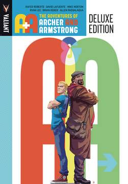 A&A ADV OF ARCHER & ARMSTRONG HC DLX ED