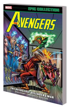 AVENGERS EPIC COLLECTION TP AVENGERS DEFENDERS WAR