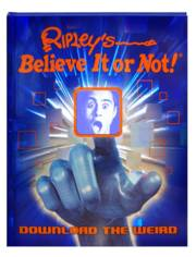 RIPLEYS BELIEVE IT OR NOT DOWNLOAD THE WEIRD HC