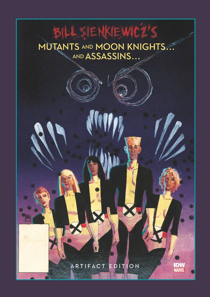 BILL SIENKIEWICZ MUTANTS & MOON KNIGHTS ARTIFACT ED HC ***OOP***