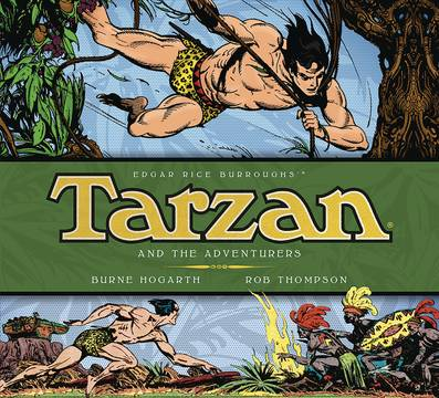 BURNE HOGARTH TARZAN HC VOL 05 ADVENTURERS