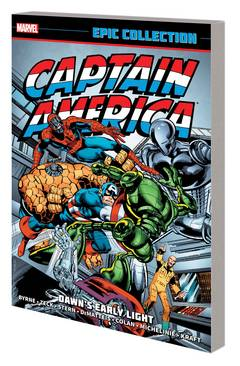 CAPTAIN AMERICA EPIC COLLECTION TP DAWNS EARLY LIGHT TP ***OOP***