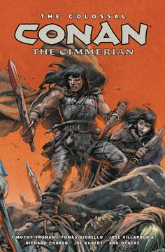 COLOSSAL CONAN THE CIMMERIAN HC ***OOP***