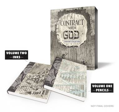 WILL EISNER CONTRACT WITH GOD CURATORS COLL HC ***OOP***