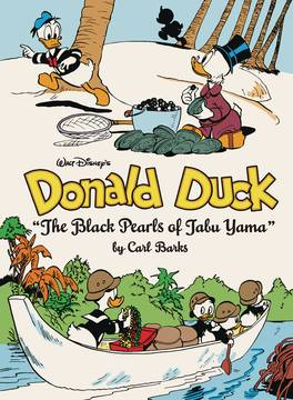WALT DISNEY DONALD DUCK HC VOL 12 BLACK PEARLS TABU YAMA