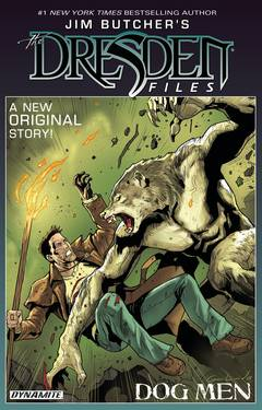 JIM BUTCHER DRESDEN FILES DOG MEN HC SGN