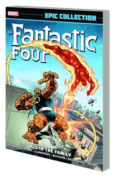 FANTASTIC FOUR EPIC COLLECTION TP ALL IN FAMILY ***OOP***