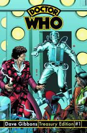 DOCTOR WHO DAVE GIBBONS TREASURY ED #1 ***OOP***