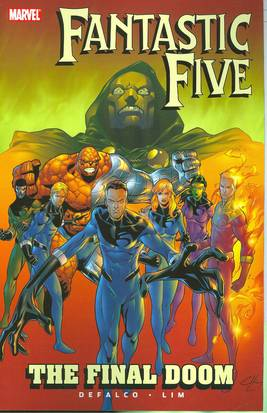 *** OUT OF PRINT *** FANTASTIC FIVE TP FINAL DOOM