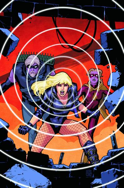 GREEN ARROW BLACK CANARY LEAGUE OF THIER OWN TP