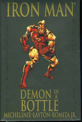 IRON MAN PREM HC DEMON IN A BOTTLE ***OOP***