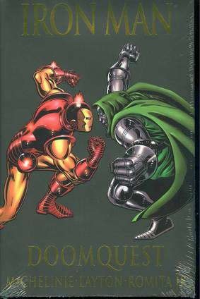 IRON MAN DOOMQUEST PREM HC ***OOP***