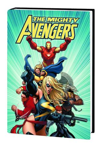 MIGHTY AVENGERS HC VOL 01 CHO COVER ***OOP***