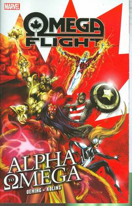 OMEGA FLIGHT TP VOL 01 ALPHA TO OMEGA ***OOP***