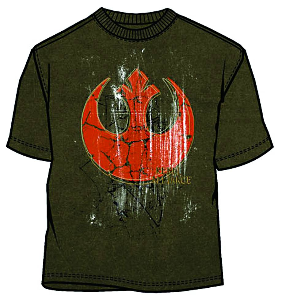 SW REBEL YELL MILITARY GREEN T/S MED