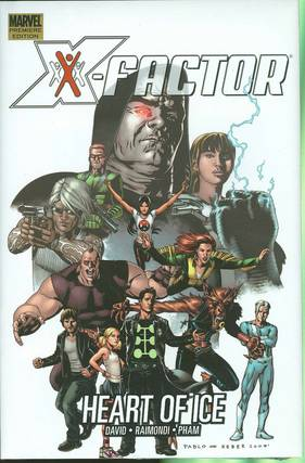 X-FACTOR PREM HC VOL 04 HEART OF ICE ***OOP***