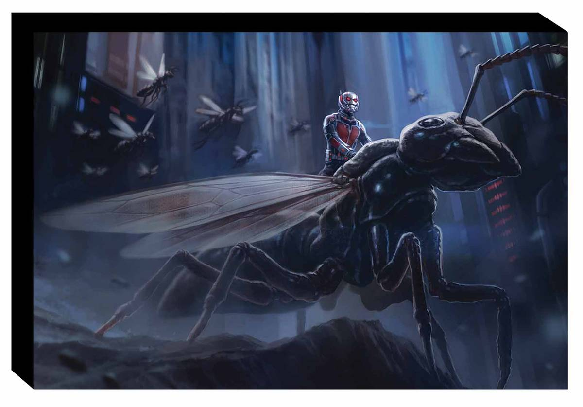 MARVELS ANT-MAN ART OF MOVIE SLIPCASE HC