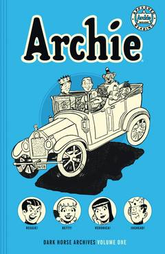 ARCHIE ARCHIVES HC VOL 01