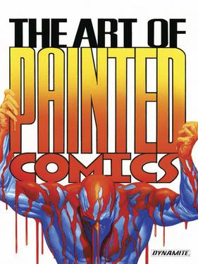 ART OF PAINTED COMICS HC