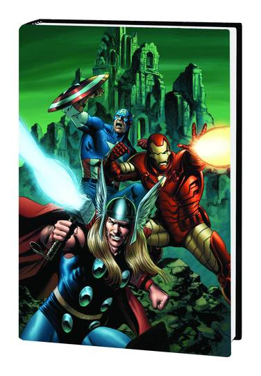 AVENGERS DISASSEMBLED HC CAP, THOR AND IRON MAN ***OOP***