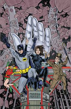 BATMAN 66 MEETS STEED & MRS PEEL HC