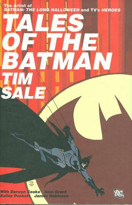 TALES OF THE BATMAN TIM SALE HC
