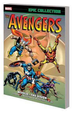AVENGERS EPIC COLLECTION BEHOLD VISION TP