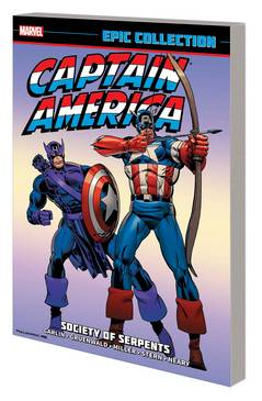 CAPTAIN AMERICA EPIC COLLECTION SOCIETY SERPENTS TP
