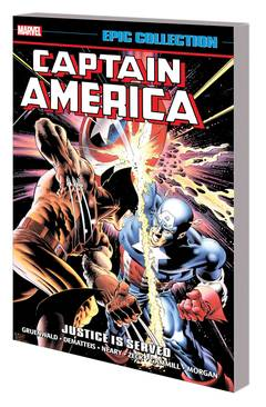 CAPTAIN AMERICA EPIC COLLECTION TP JUSTICE IS SERVED