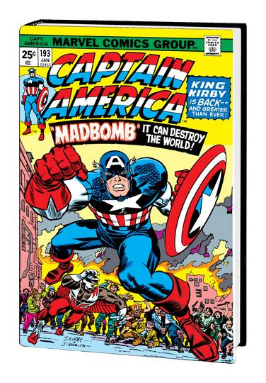 CAPTAIN AMERICA BY JACK KIRBY OMNIBUS HC *** OUT OF PRINT ***