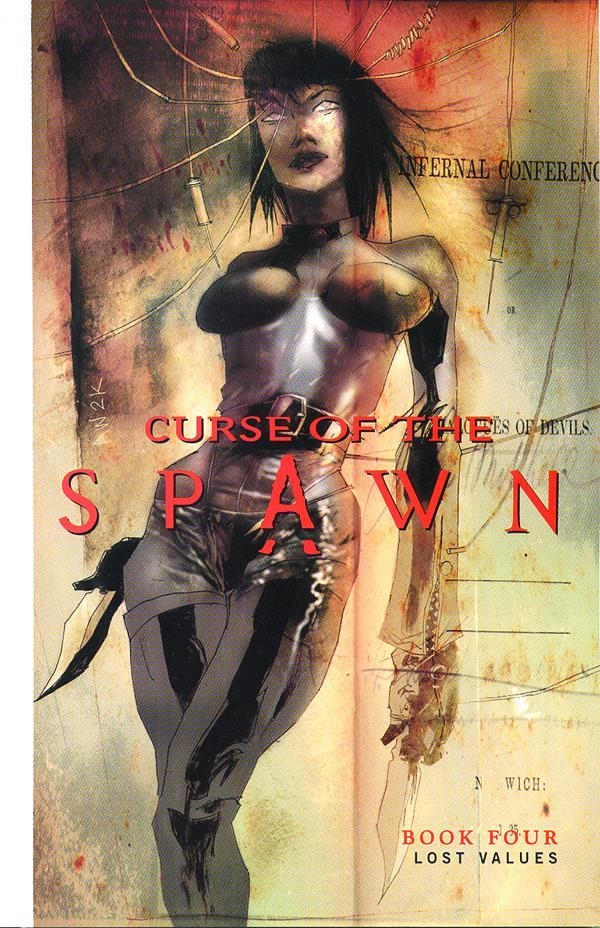 SPAWN CURSE OF THE SPAWN TP VOL 04 LOST VALUES ***OOP***