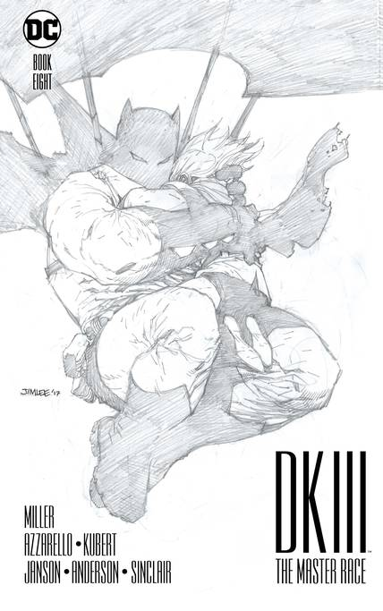 DARK KNIGHT III MASTER RACE #8 (OF 9) COLLECTORS EDITION