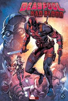DEADPOOL BAD BLOOD OGN HC
