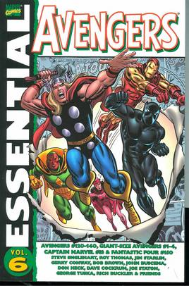 ESSENTIAL AVENGERS TP VOL 06 ***OOP***