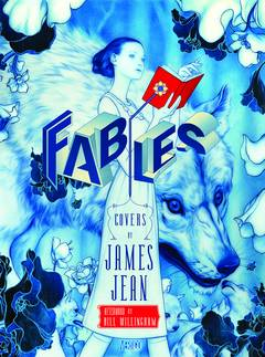 FABLES COMPLETE COVERS BY JAMES JEAN HC NEW ED