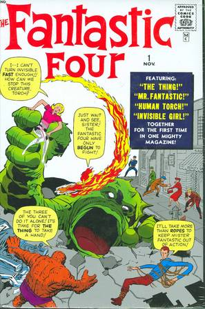 *** OUT OF PRINT *** FANTASTIC FOUR OMNIBUS VOL 01