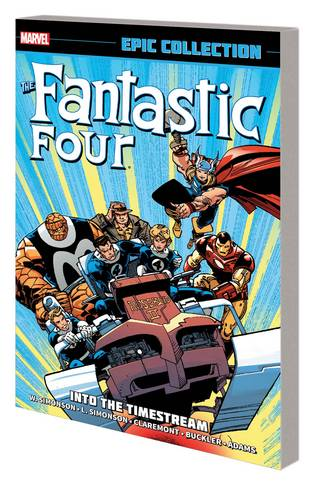 FANTASTIC FOUR EPIC COLLECTION TP INTO TIMESTREAM