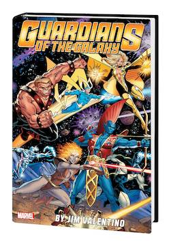 GUARDIANS OF GALAXY BY JIM VALENTINO OMNIBUS HC