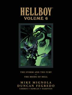 HELLBOY LIBRARY HC VOL 06 (Ever So Slight Damaged Corner)