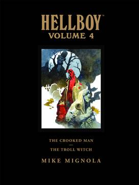 HELLBOY LIBRARY ED HC VOL 04 CROOKED MAN ***OOP***
