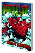 HULK TP VOL 02 RED AND GREEN