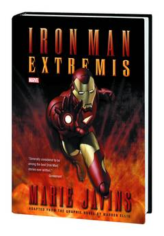 IRON MAN EXTREMIS PROSE NOVEL HC