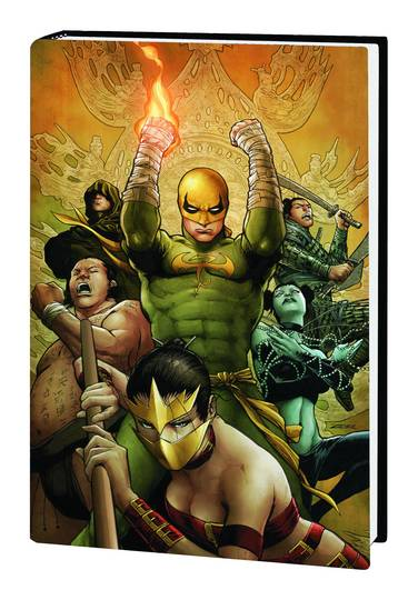 IMMORTAL IRON FIST PREM HC VOL 05 ESCAPE FROM EIGHTH CITY ***OOP