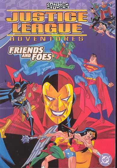 JUSTICE LEAGUE ADVENTURES TP VOL 02 FRIENDS AND FOES