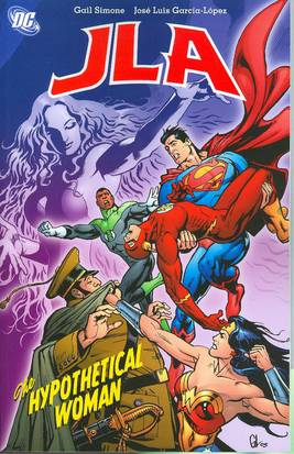 JLA THE HYPOTHETICAL WOMAN TP ***OOP***