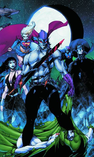 JUSTICE LEAGUE OF AMERICA RISE OF ECLIPSO TP