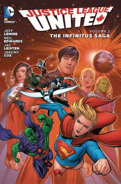 JUSTICE LEAGUE UNITED TP VOL 02 THE INFINITUS SAGA