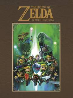 LEGEND OF ZELDA HYRULE HISTORIA HC